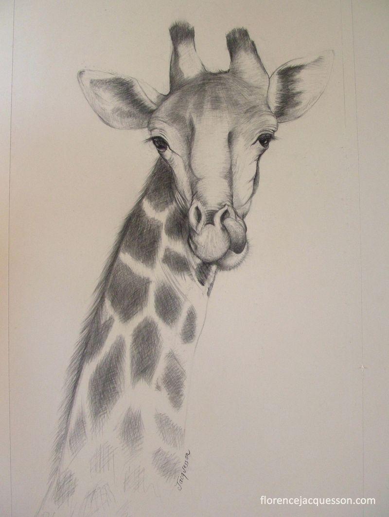 Jacuesson sculpteur animalier girafe