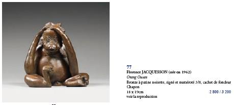 Drouot Orang Outan Jacquesson