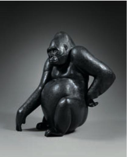Kouame bronze Florence Jacquesson