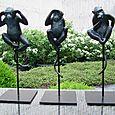 023 Fouquet's trois singes de la non sagesse