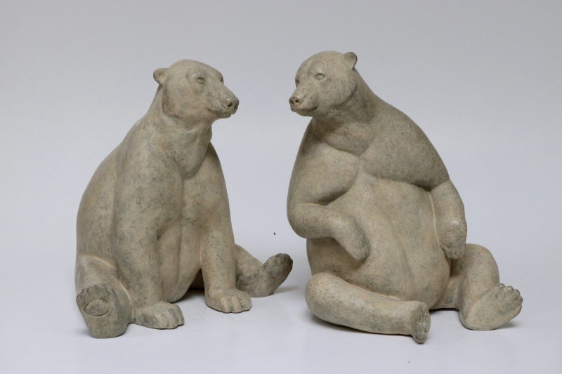 F Jacquesson Polar bear Couple 2