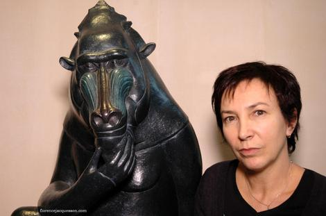 Sculpture_animalier_mandrill_jacque