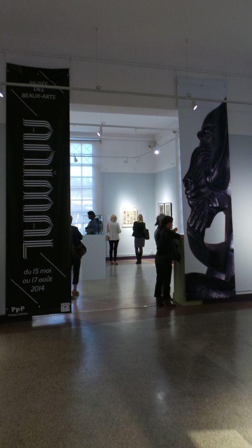 006 deuxième entrée de l'exposition