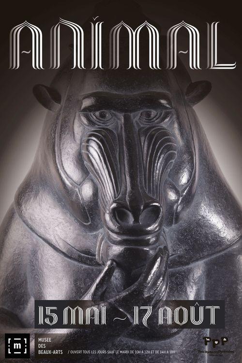 001 Affiche exposition Musée des Beaux Arts de PAU