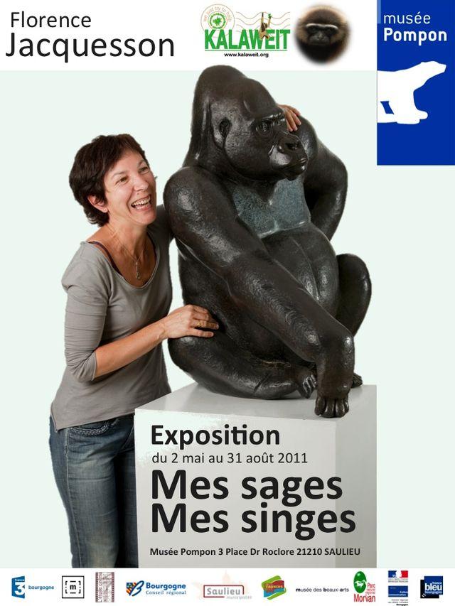 Affiche Exposition au Musée François POMPON été 2011