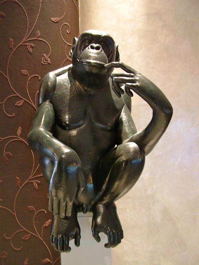 011 Fouquet's Bonobo pensif