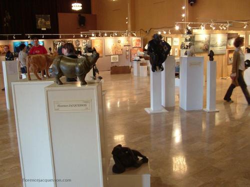 Florence JACQUESSON ouverture du salon 4 03/06
