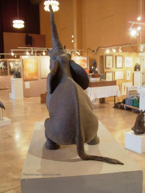 Florence JACQUESSON L'éléphant d'Afrique Salon 03/06