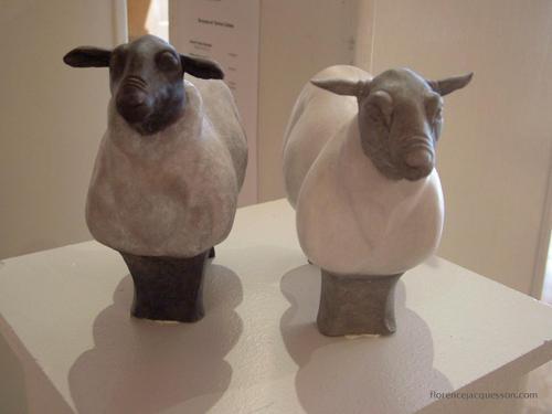Florence JACQUESSON Les Moutons Salon 03/06