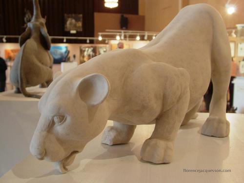 Florence JACQUESSON La Lionne Blanche Salon 03/06